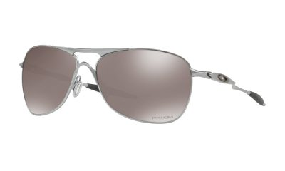 OAKLEY Crosshair Sunglasses - Lead - Prizm Black Polarized Lens