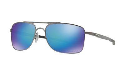 OAKLEY Gauge 8 Sunglasses - Matte Gunmetal - Prizm Sapphire Polarized Lens