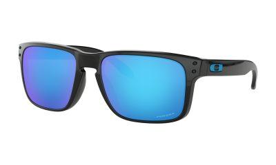 OAKLEY Holbrook Sunglasses - Polished Black - Prizm Sapphire Iridium Lens