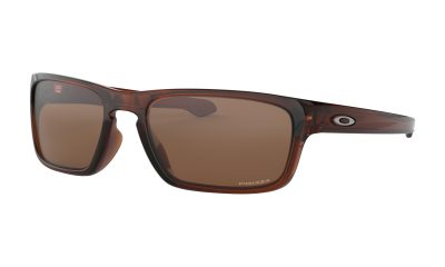 OAKLEY Sliver Stealth Sunglasses - Polished Root Beer - Prizm Tungsten Lens
