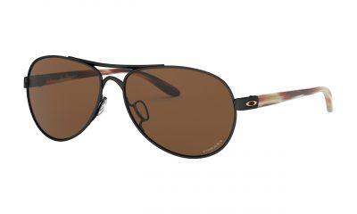 OAKLEY Tie Breaker Sunglasses - Polished Black - Prizm Tungsten Lens