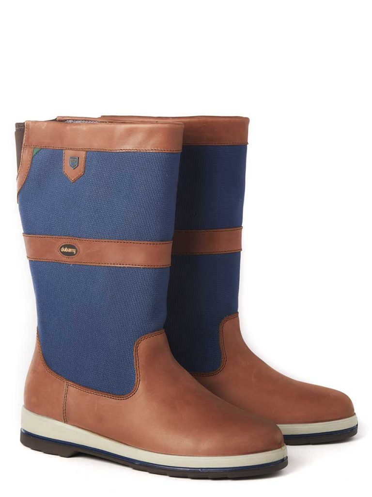 DUBARRY Shamrock ExtraFit Sailing Boots - GORE-TEX - Navy & Brown