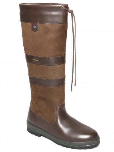 DUBARRY Galway Boots - Ladies Waterproof Gore-Tex Leather - Walnut