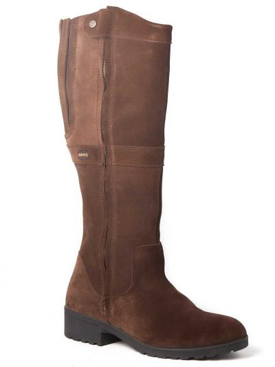 DUBARRY Sligo Boots - Ladies Waterproof Gore-Tex Leather - Cigar Suede