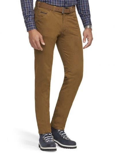 MEYER Chinos - Chicago 5573 Mid-Weight Cotton - Corn