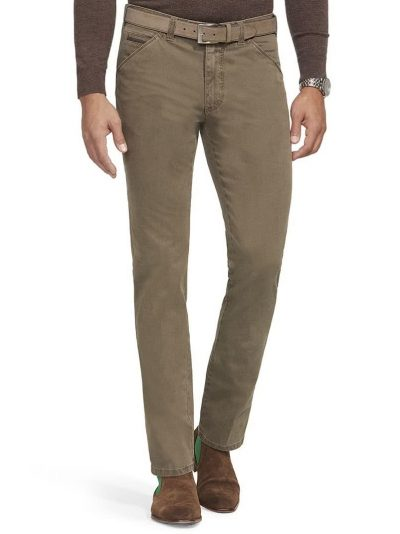 MEYER Chinos - Chicago 5573 Mid-Weight Cotton - Sand