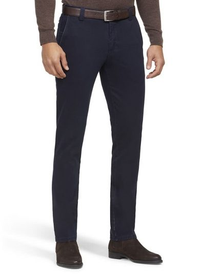 MEYER Chinos - New York 5572 Heavy Weight Cotton - Navy