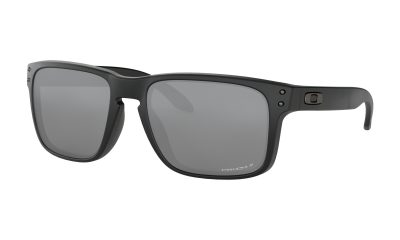 OAKLEY Holbrook Sunglasses - Matte Black - Prizm Black Polarized Lens