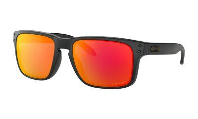 OAKLEY Holbrook Sunglasses - Matte Black - Prizm Ruby Lens