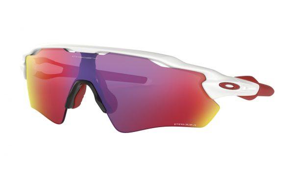 OAKLEY Radar EV Path Sunglasses - Polished White - Prizm Road Lens