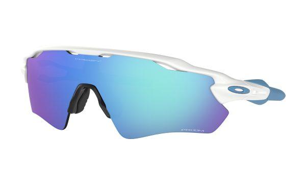 OAKLEY Radar EV Path Sunglasses - Polished White - Prizm Sapphire