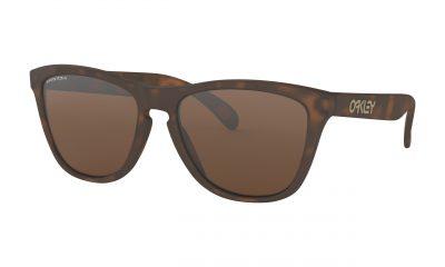 OAKLEY Frogskins Sunglasses - Matte Brown Tortoise - Prizm Tungsten Lens