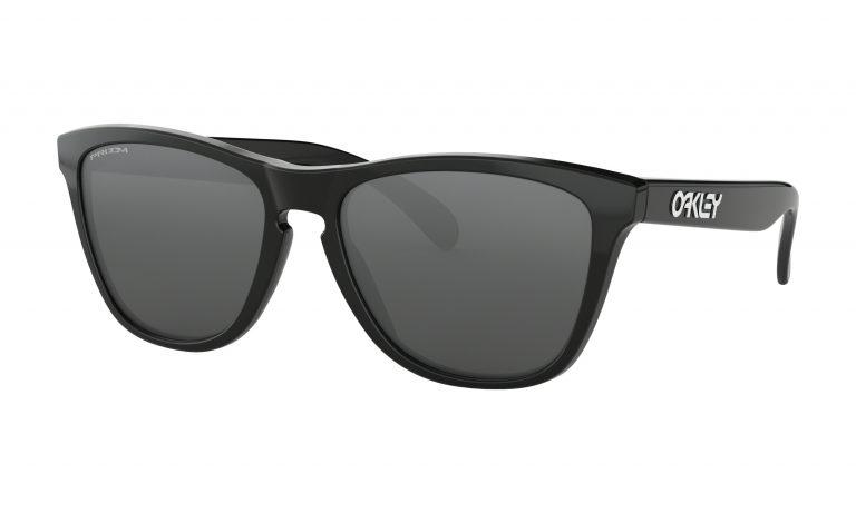 OAKLEY Frogskins Sunglasses - Polished Black - Prizm Black Lens