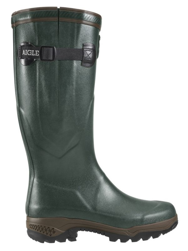 AIGLE Boots - Parcours 2 ISO Neoprene Lined - Bronze Green
