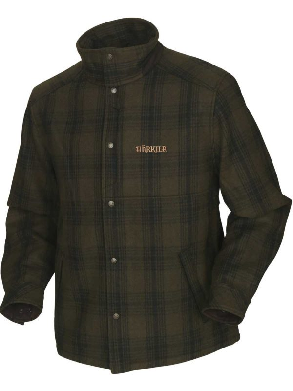 HARKILA Jacket - Mens Fjalar - Willow Green & Black