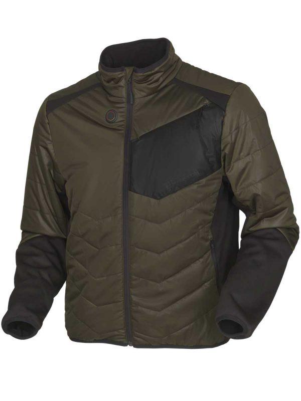 HARKILA Jacket - Mens Heat Control - Willow Green & Black