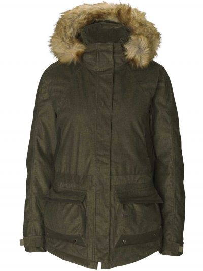 SEELAND Jacket - Ladies North Thinsulate Lined - Pine Green