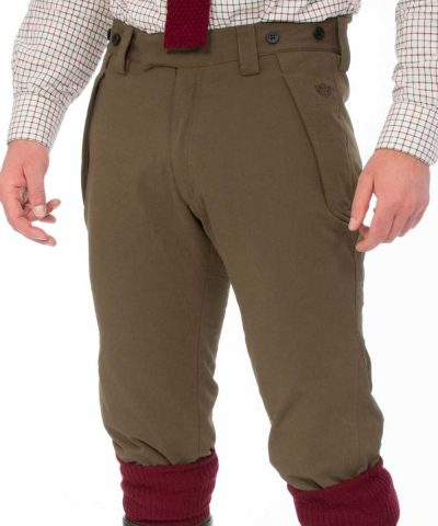 ALAN PAINE - Mens Dunswell Waterproof Breeks - Olive