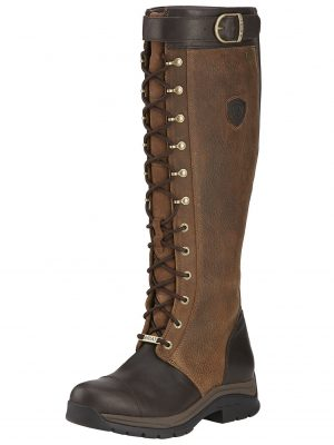 ARIAT Boots - Womens Berwick GTX Gore-Tex Insulated - Ebony