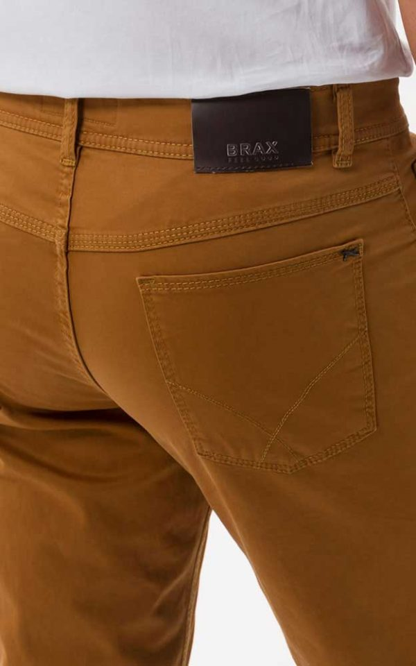 BRAX Cooper Chinos - Mens Marathon Supima® Cotton - Cinnamon
