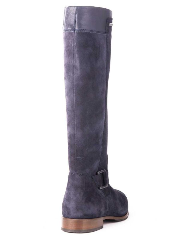 DUBARRY Limerick Boots - Waterproof Gore-Tex Leather- French Navy Suede