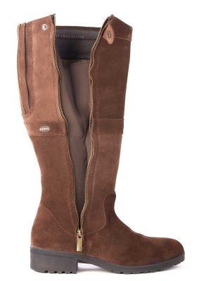 DUBARRY Sligo Boots - Waterproof Gore-Tex Leather - Cigar Suede