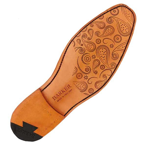 Paisley Laser Patterned Sole