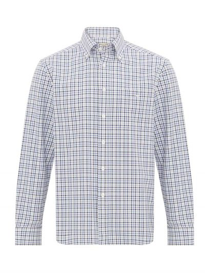 RM WILLIAMS Shirt - Men's Collins - Blue Mix Check