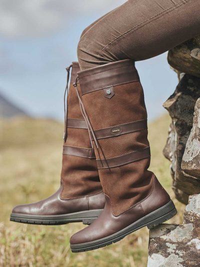 DUBARRY Galway Boots - Waterproof Gore-Tex Leather - Walnut