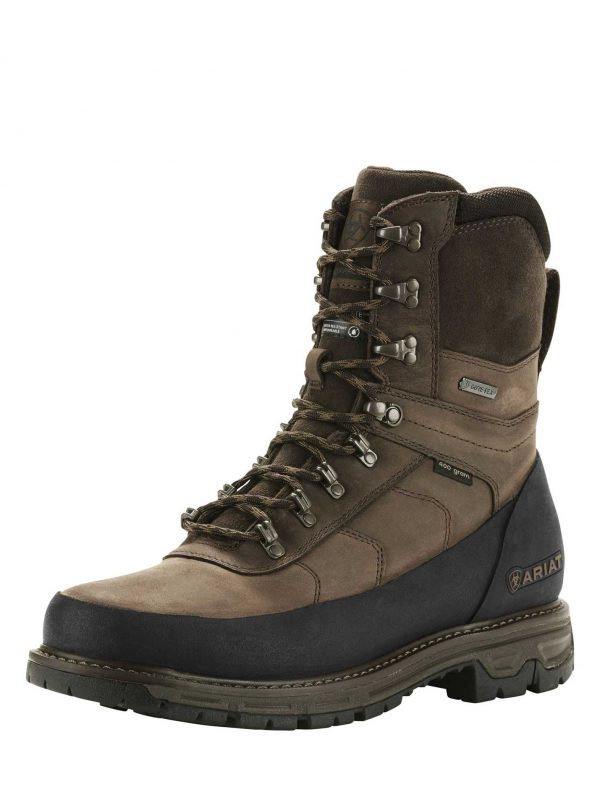 "ARIAT Boots - Mens Conquest Explore 8"" GTX - Dark Brown"