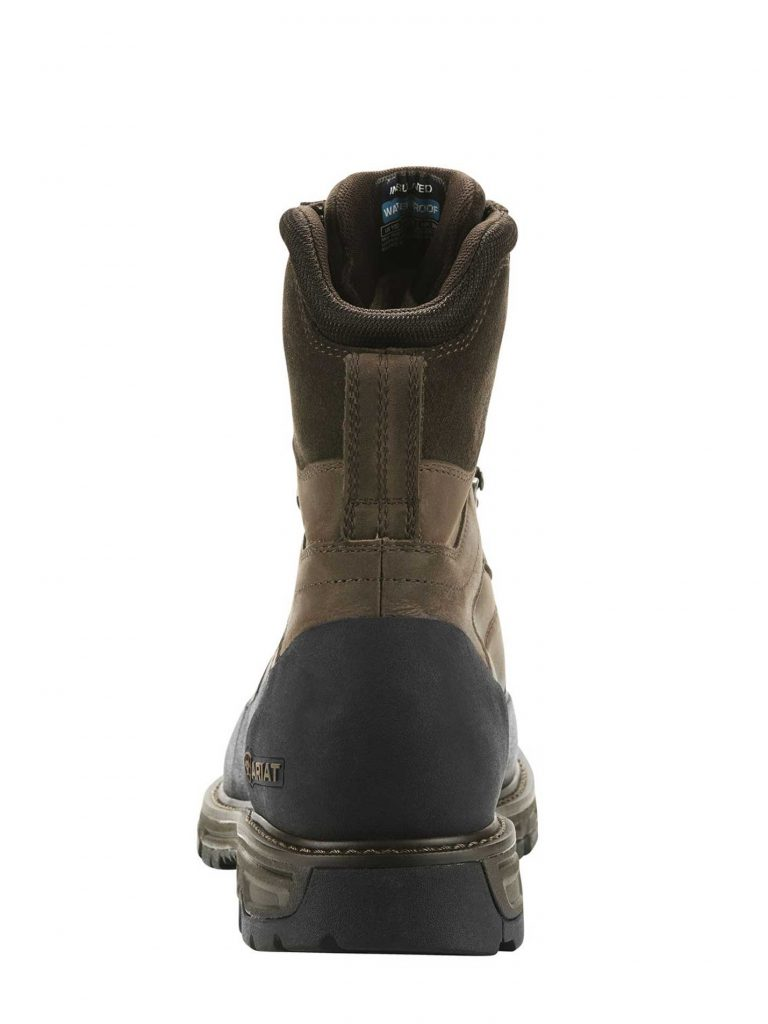 "ARIAT Boots - Mens Conquest Explore 8"" GTX - Dark Brown"
