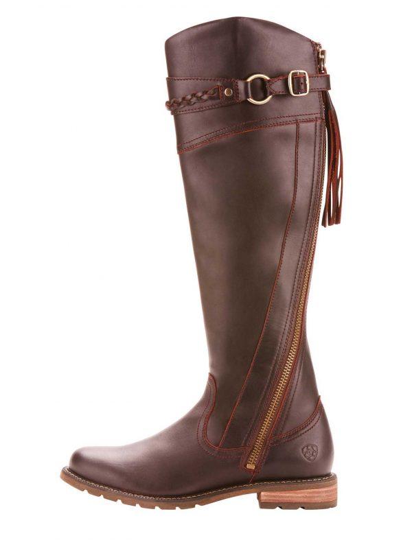 ARIAT Boots - Womens Alora Waterproof - Cordovan
