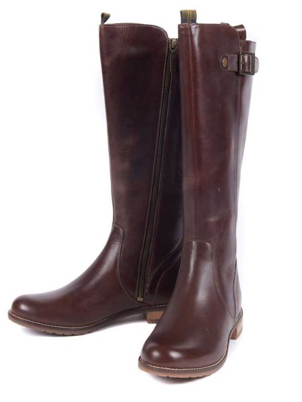BARBOUR Boots - Ladies Rebecca Calf Length - Wine