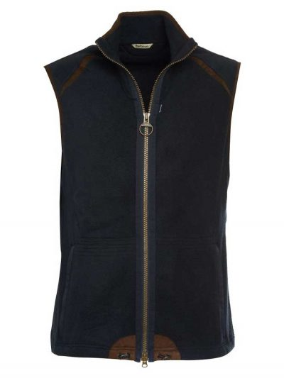 BARBOUR Gilet - Mens Langdale Fleece - Navy