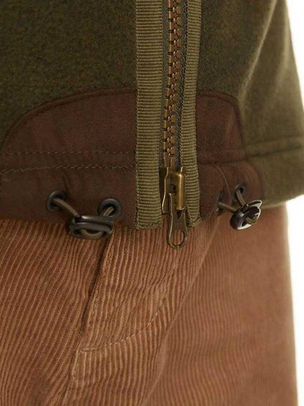 BARBOUR Gilet - Mens Langdale Fleece - Olive