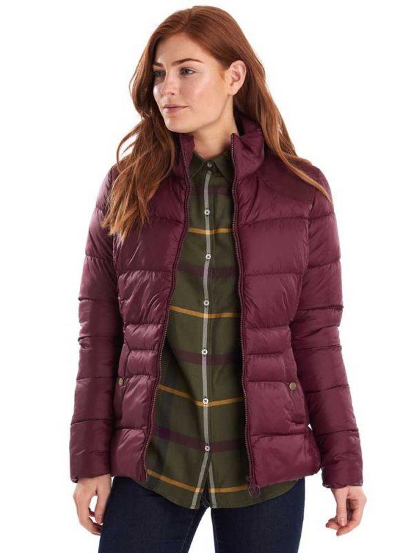 BARBOUR Quilted Jacket - Ladies Brecon - Bordeaux