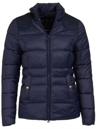 BARBOUR Quilted Jacket - Ladies Brecon - Navy