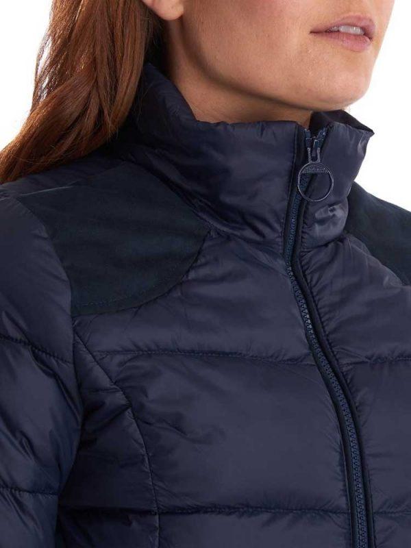 BARBOUR Quilted Jacket - Ladies Brecon - Navy