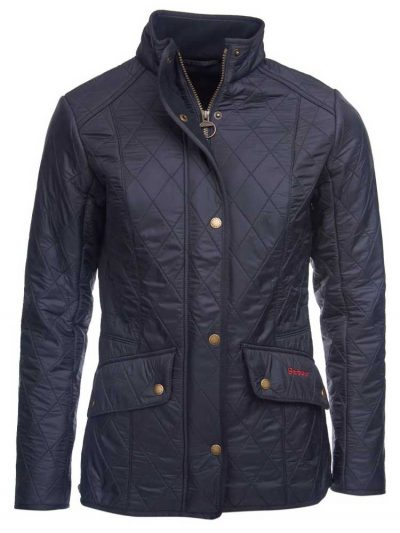 BARBOUR Quilted Jacket - Ladies Cavalry Polarquilt - Navy