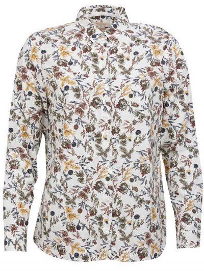 BARBOUR Shirt - Ladies Stirling Pine Print - Cloud