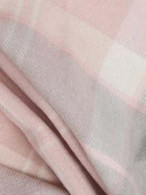 BARBOUR Wrap - Hailes Tartan - Soft Pink