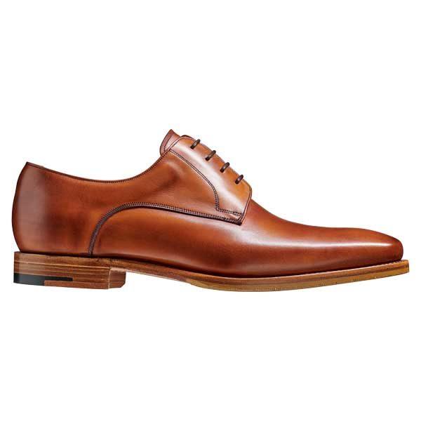 BARKER Ellon Shoes - Mens Derby Shoes - Antique Rosewood Calf