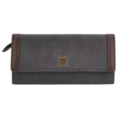 DUBARRY Collinstown Leather Purse - Black Brown