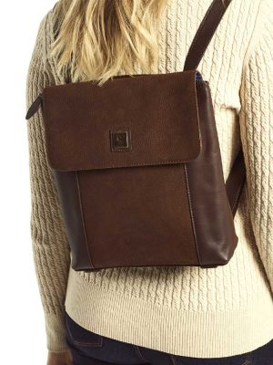 DUBARRY Convertible Bag - Ladies Dingle Leather - Walnut