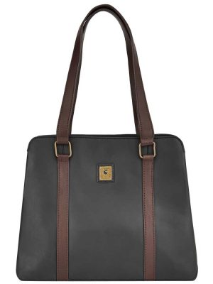 DUBARRY Shoulder Bag - Ladies Kinsale Leather - Black/Brown