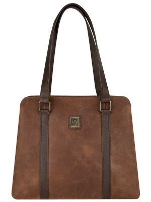 DUBARRY Shoulder Bag - Ladies Kinsale Leather - Chestnut