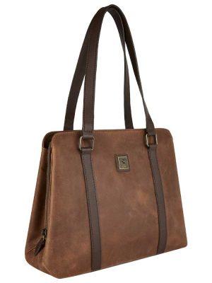 DUBARRY Shoulder Bag - Ladies Kinsale Leather - Chestnut