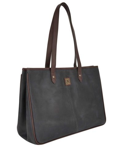 Dubarry Loughrea Large Tote Bag - Black Brown