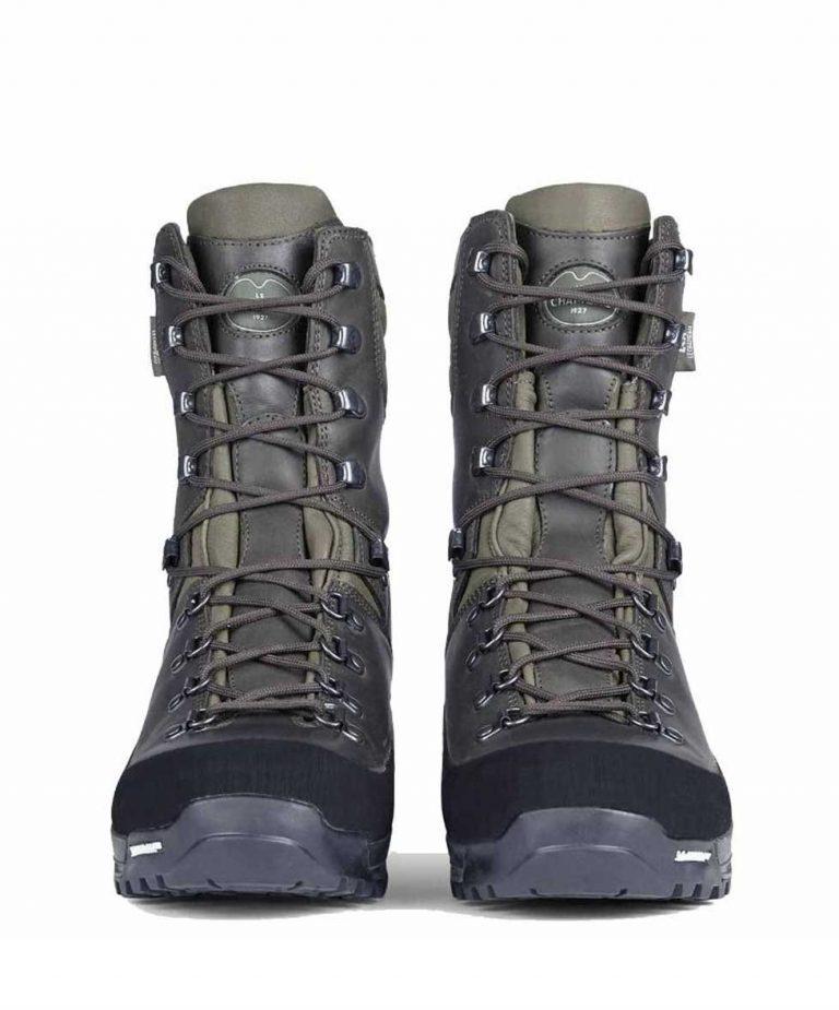 """LE CHAMEAU Boots - Mens Chameau-Lite LCX® 10"""" Stalking - Marron"""
