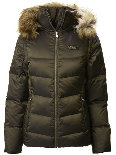 MUSTO Coat - Ladies Burghley Quilted 2 In 1 Jacket - Rifle Green